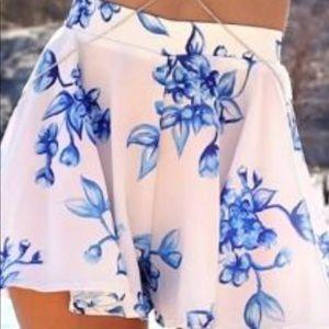 Sabo skirt floral short size XS